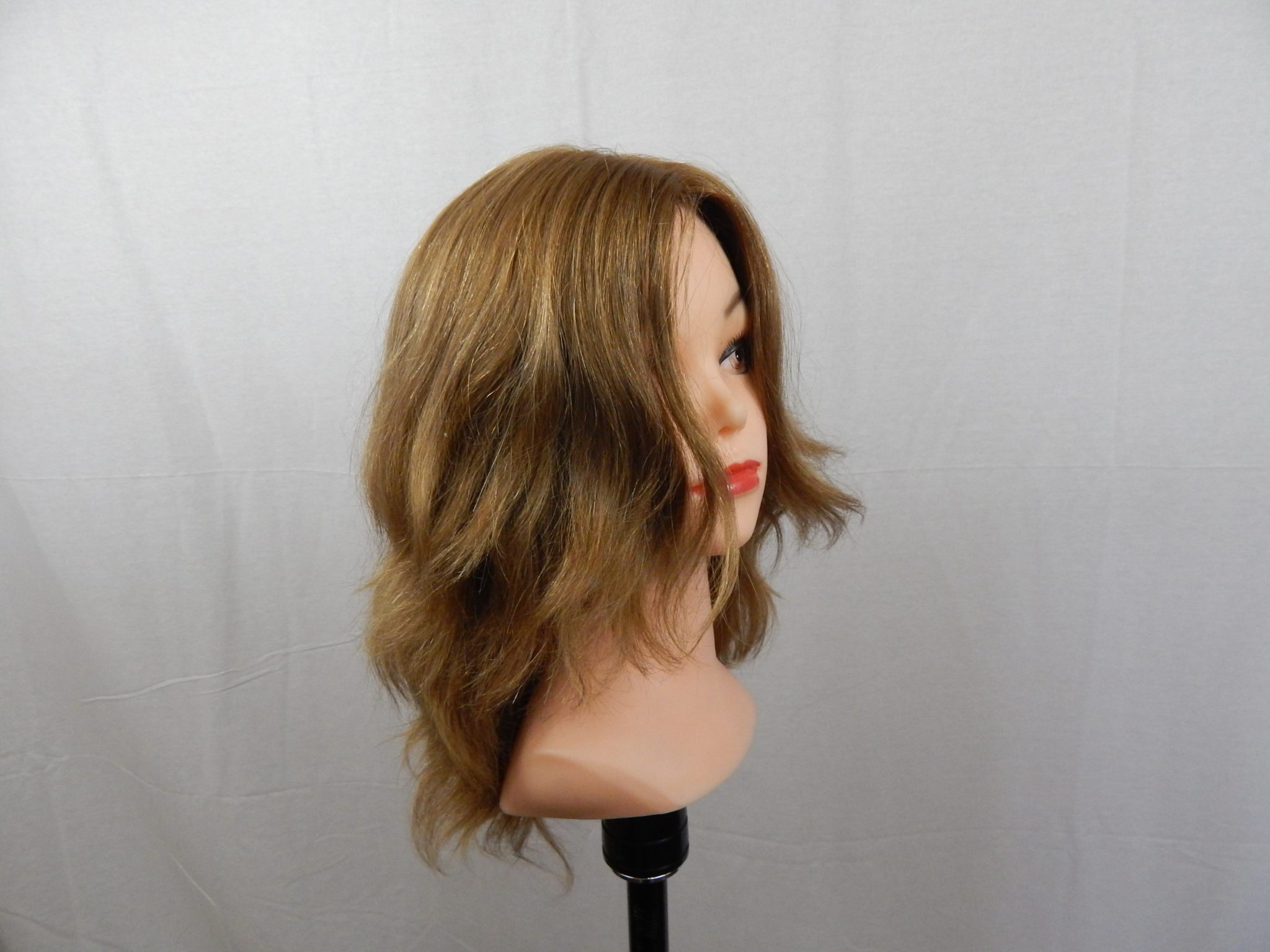 Wig Design By Flora- Human Hair Wigs-Full Wig 14/12 15""